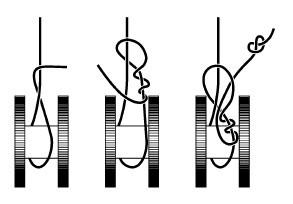 как наматывать плетенку на мультипликатор