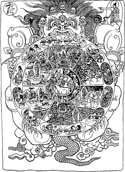 Священные символы древних славян - ромбические узоры, небесные олени и птицы в матрице мироздания