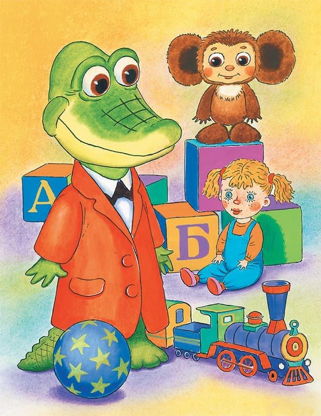 Картинки с персонажами из мультфильмов чебурашка